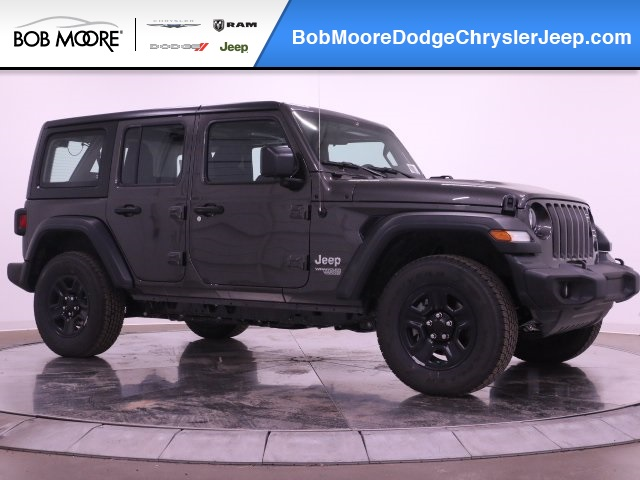 Jeep Wrangler Unlimited Sport >> New 2019 Jeep Wrangler Unlimited Sport Sport Utility In Oklahoma